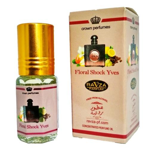 Floral Shock Yves Ravza Parfum 3ml купить с доставкой на дом в