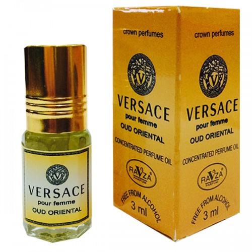 Versace Oud Ravza Parfum 3ml купить с доставкой на дом в магазин Ravza